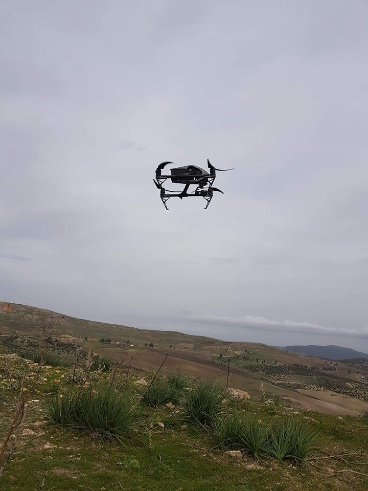 Prise de vue aérienne par drone du prestigieux site archéologique de Dougga2