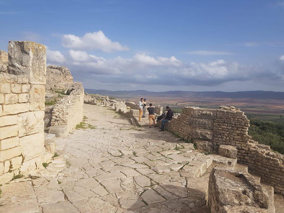 Prise de vue aérienne par drone du prestigieux site archéologique de Dougga8