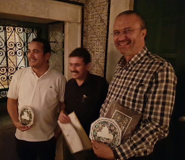 Formation avec les autorités palestinienne en Géodésie, GNSS, CORS et Photogrammétrie en Tunisie